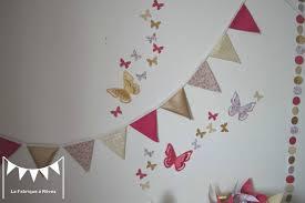 fanion chambre bébé dacoration chambre baba fille enfant galerie avec guirlande fanion