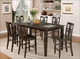 kitchen 3 piece kitchen table set black counter height table