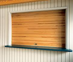 Shutter Interior Doors Overhead Doors Model 665 Rolling Counter Wood Doors Tambour