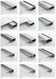 Glass Kitchen Doors Cabinets Aluminum Frame Glass Kitchen Cabinet Doors Aluminum Glass