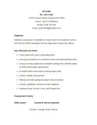 Resume Format For Job In Word by 30 Customer Service Resume Examples Template Lab