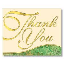 appreciation thank you card