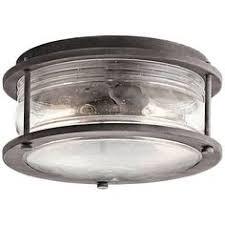 allen roth stonecroft ceiling fan allen roth stonecroft 12 in w aged bronze outdoor flush mount