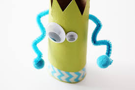 toilet paper roll crafts recycled monster treat holders