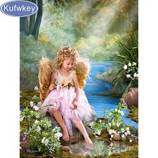 Angel Home Decor Classical Angel Paintings Promotion Shop For Promotional Classical
