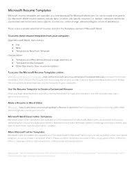 ms resume templates microsoft resume template collaborativenation