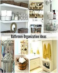 bathroom organizers ideas 49 luxury bathroom cabinet organization ideas derekhansen me