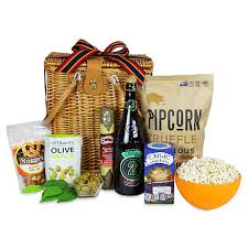 snack basket cocktail craft gifts local snack picnic
