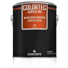 colored water based outdoor concrete paint colortec acrylicwb