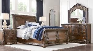 Best Dark Wood Bedroom Sets Photos Room Design Ideas - Dark wood queen bedroom sets
