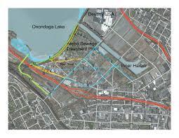 Map Of Destiny Usa by Loop The Lake Onondaga Lake Watershed Partnership