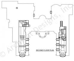 vaquero courtyard house plan mediterranean home design vaquero house plan courtyard floor house plan second floor