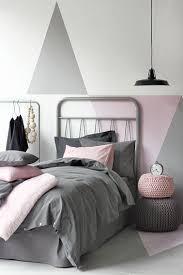 chambre fille grise jeu de peinture pour chambre ado fille en et gris