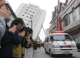 earthquake update update death toll from eastern taiwan earthquake rises to 16