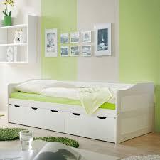 Schlafzimmer Betten Mit Schubladen Massivholzbett Fiorina In Weiß Mit Schubladen Pharao24 De