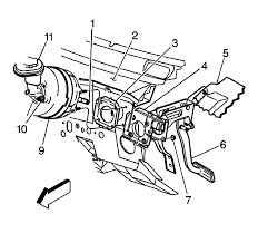 repair instructions power vacuum brake booster replacement