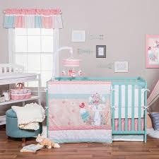 Pink And Aqua Crib Bedding 35 Best Aqua Baby Room Images On Pinterest Nursery Ideas