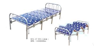 Metal Folding Bed Folding Metal Structure Bed Iron Bed Metal Bunk Bed China