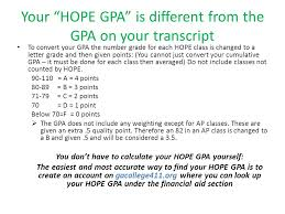 the financial aid process and hope updates do you need for