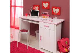 bureau fille et blanc bureaux chambre bureau 135 cm deco chambre swag fille chambre