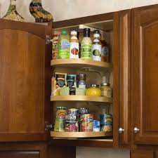 Kitchen Cabinets Organizer Ideas Creative Spice Racks Design With Three Tier Swing Spice Rack And