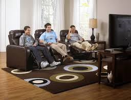 Grey Sofa Recliner Living Room Real Leather Sofas Sectional With Recliner