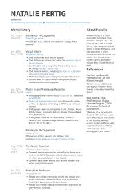freelance resume template freelance photographer resume sles photography resume for