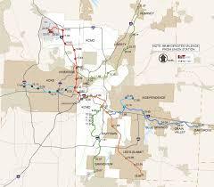 kansas city metro map kansas city envisions 150 mile regional commuter rail system the