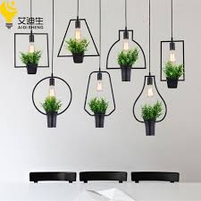 modern dining pendant light modern plant pot deco pendant l fashion nordic shade modern