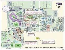 map of tcu stadium tidal treasures