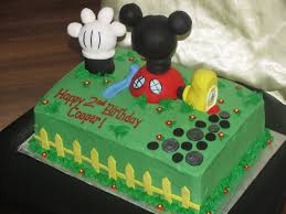 tabbycakes mickey mouse clubhouse cake