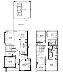 Floor Plan Two Storey House Double Storey House Designs Bendigo Avignon House Plans