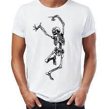 online buy wholesale skeleton halloween shirt from china skeleton