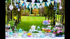 summer garden party decorations at home ideas youtube