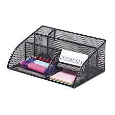 Mesh Desk Organizer Brenton Studio Metro Mesh Angled Desk Organizer Black By Office