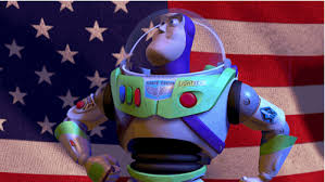 Patriotism Patriotism Everywhere Buzz And Woody Meme - buzz light year gifs get the best gif on giphy