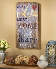 Rustic Country Home Decor Country Home Decor Ebay
