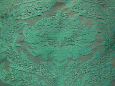 Blue Damask Upholstery Fabric Silk Damask Ebay