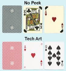 gemaco no peek cards printed on casino pro card stock