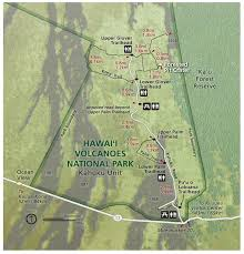 National Rain Map Maps Hawai U0027i Volcanoes National Park U S National Park Service