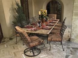 Woodard Wrought Iron Patio Furniture Furnitures Make Your Patio More Comfy With Chic Woodard Furniture