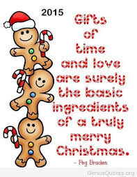 merry christmas quote on card 2014