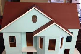 paint the house once upon a doll collection building a dollhouse part 3