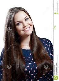 portrait of beautiful plus size teen stock photo image