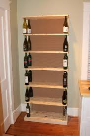 the fabulous blog of miss ginger grant wine bottle bookshelf