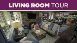 Living Room Tours - living room tour from hgtv urban oasis 2017 video hgtv