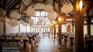 Rivervale Barn Wedding Prices Rich Coloured Lanterns At Rivervale Barn Guildford Hanging