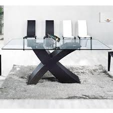 table de cuisine moderne en verre exceptional table de cuisine moderne en verre 4 table manger