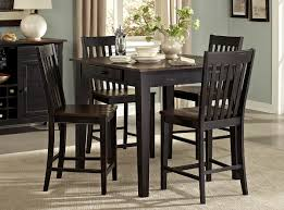 counter height dining set dinette furniture chairs wood table