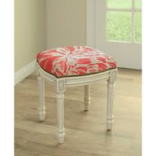 Vanity Chair Stool Furniture Stool For Vanity Upholstered Vanity Stool Bathroom